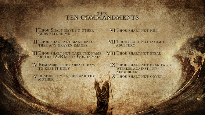 10CommandmentsWallpaper