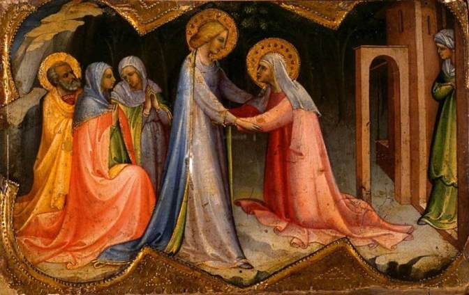 Visitation. LorenzoMonaco