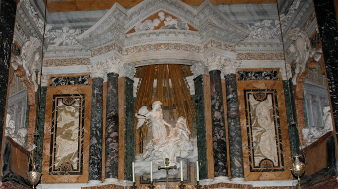 SantaMaria(della)Vittoria.CornaroChapel.Rome